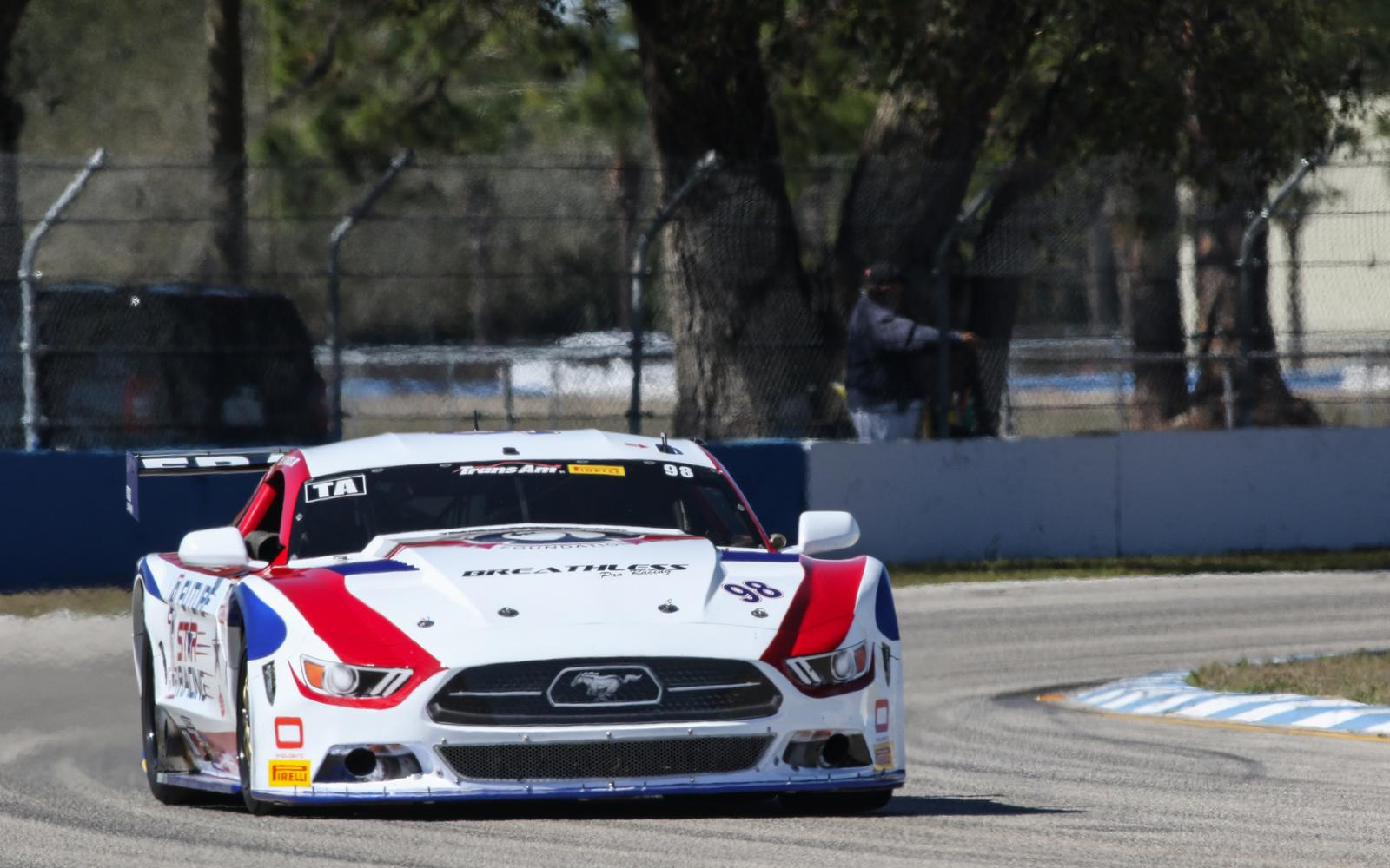 Francis Breaks Trans Am Track Record for Sebring Pole