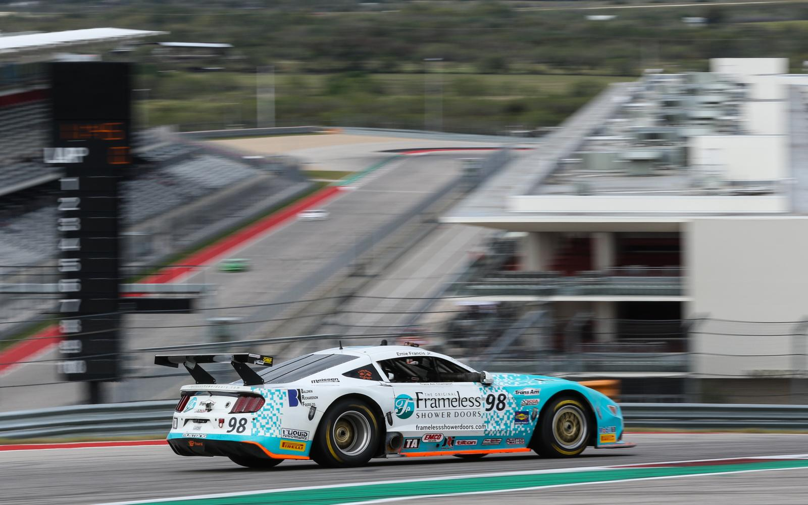 Francis Rebounds with COTA Victory