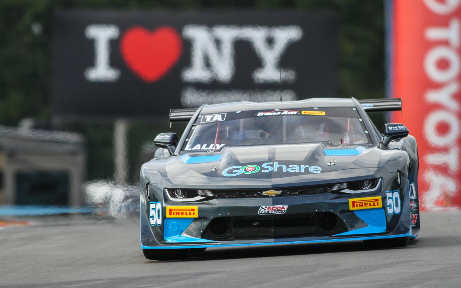 Andy Lally takes Trans Am pole at Watkins Glen