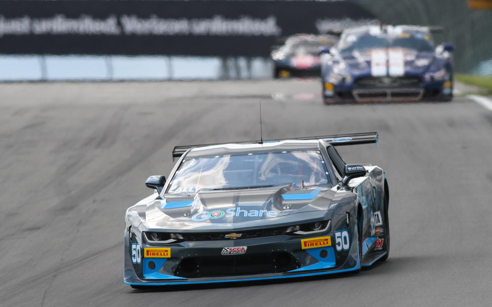 Andy Lally Comes from Behind to Capture Watkins Glen Trans Am Win