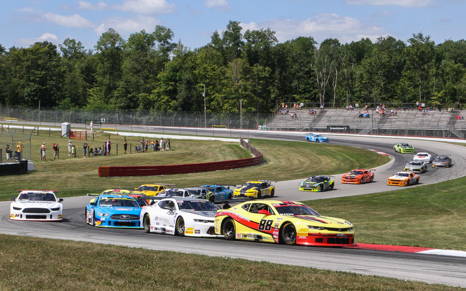 Rafa Matos Goes Flag-to-Flag in Mid-Ohio FirstEnergy Muscle Car Challenge