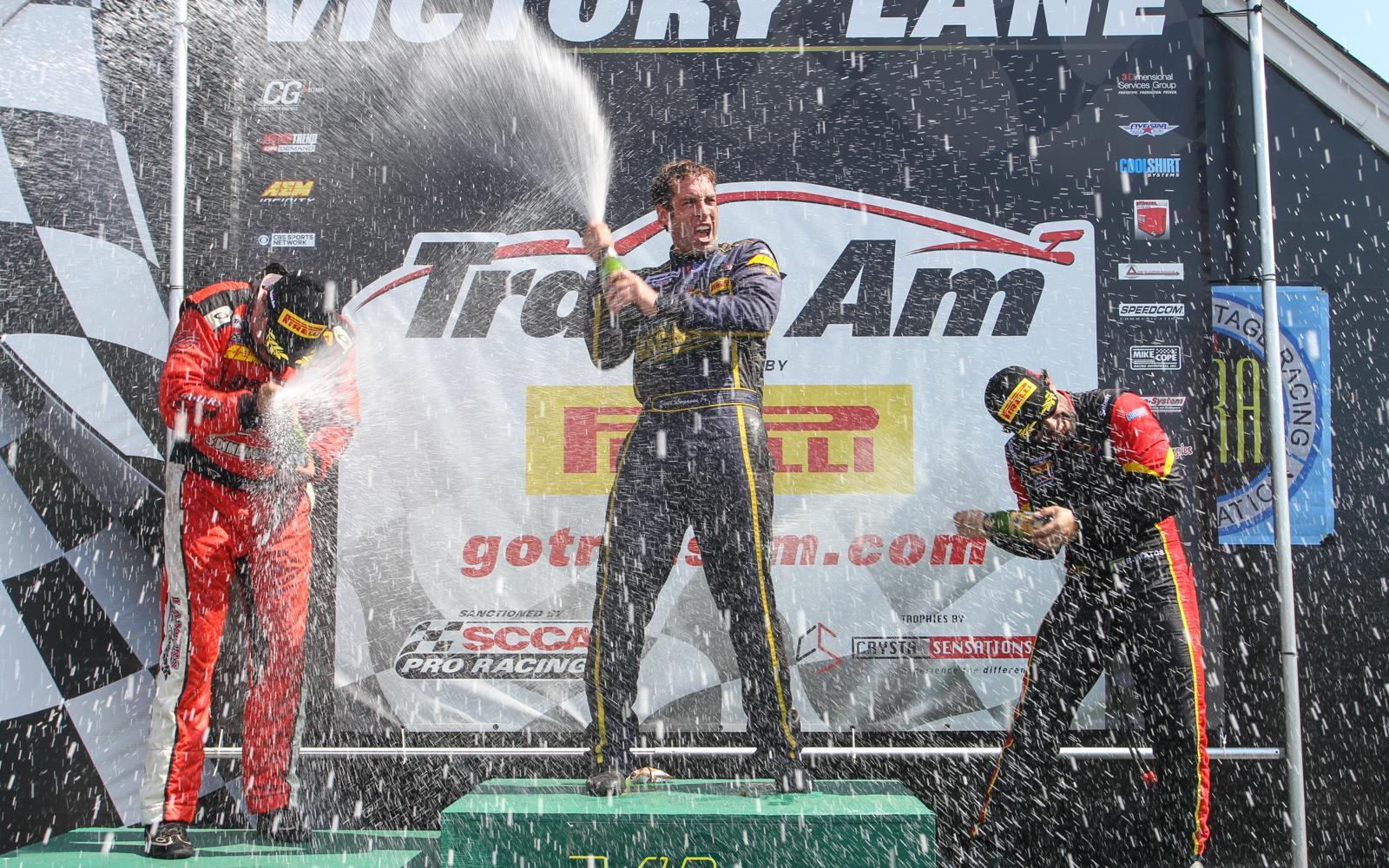 Scott Lagasse, Jr., wins VIR Muscle Car Challenge, Matos Clinches TA2 Championship