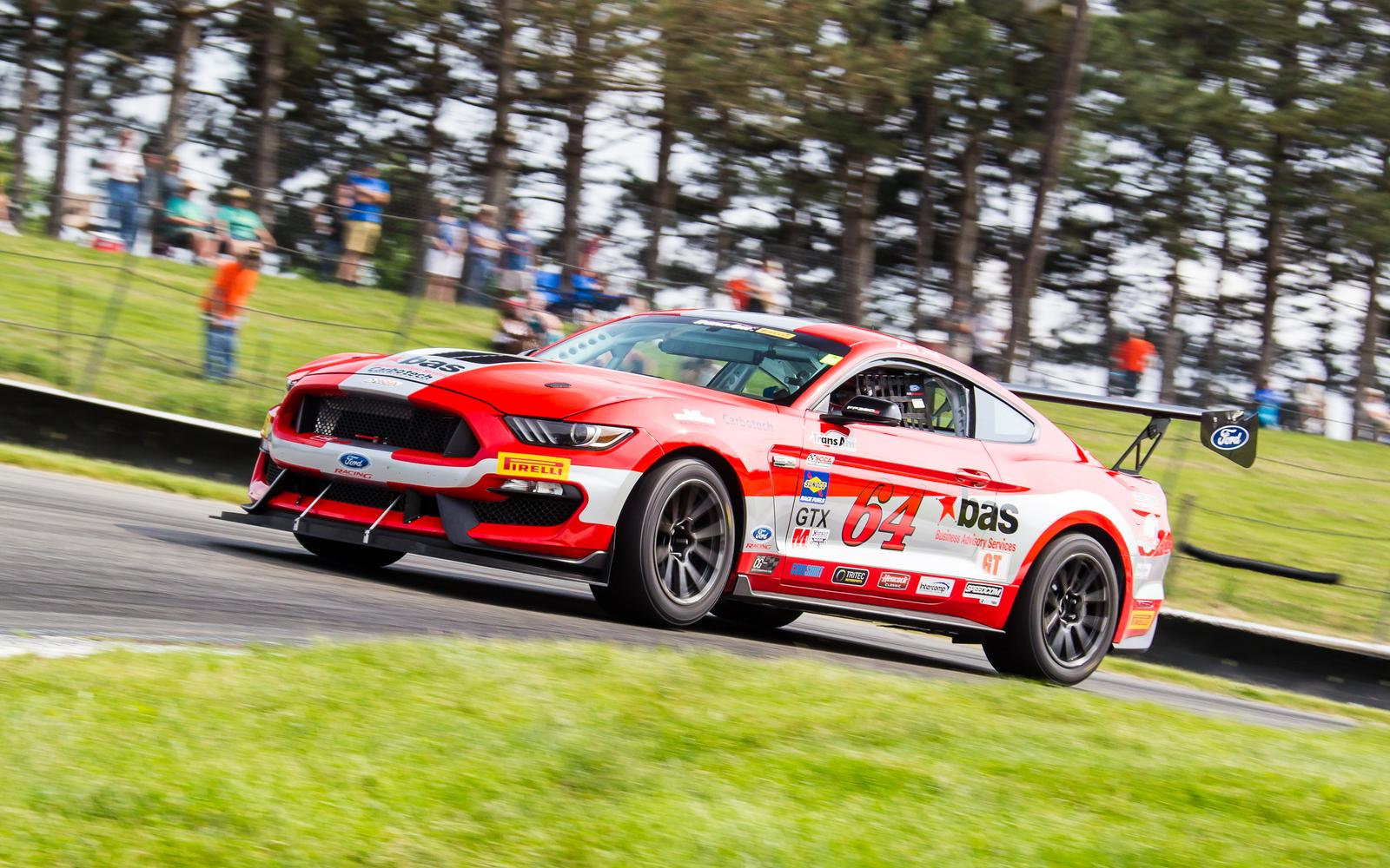 Mid Ohio Sportscar Course >> Funk Enters Limited Edition Mustang At Mid Ohio Sports Car