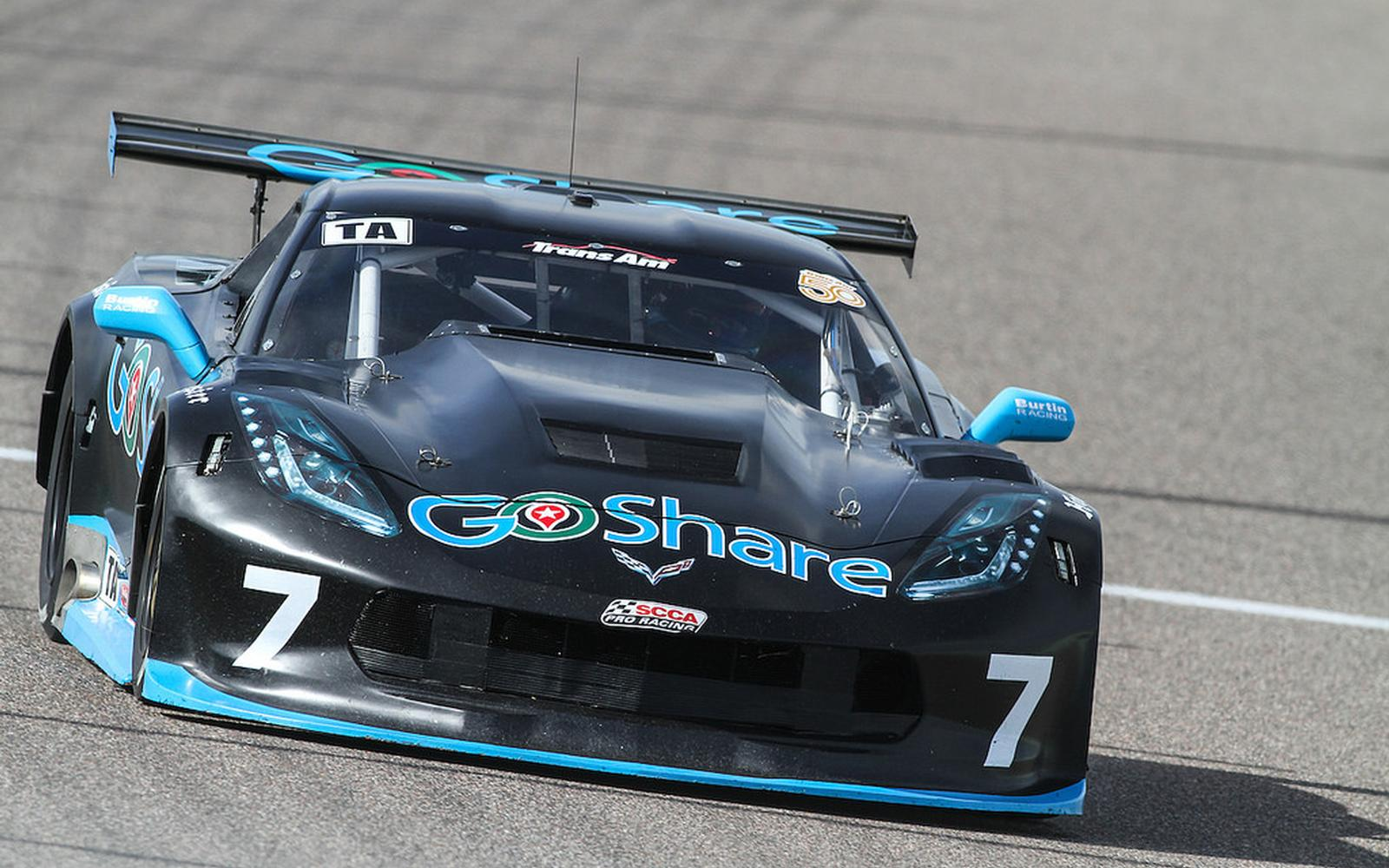 GoShare Corvette Heads to Daytona Straight from SEMA Trans Am Pirelli Announcement
