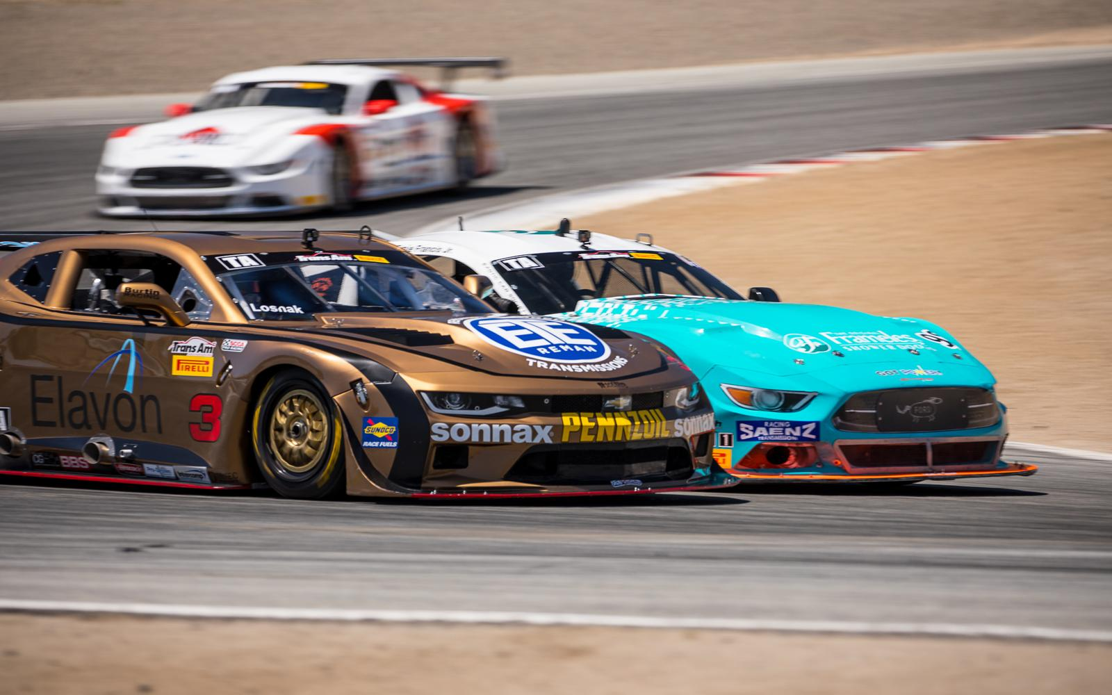 Double Podium For Burtin Racing at Laguna Seca Sets Up Season Championship Battle