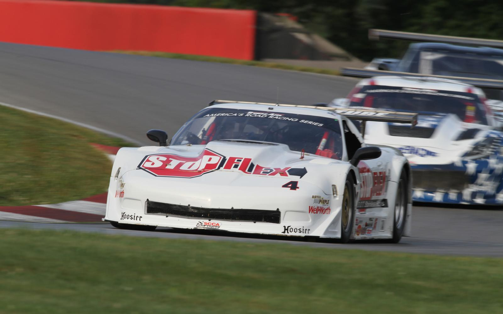 Tony Ave Racing's Paul Fix Wins Wild Trans Am Race at Mid-Ohio Sports Car Course
