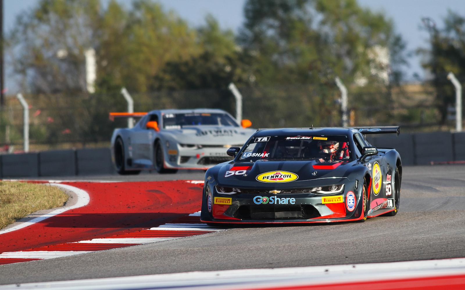 Burtin Racing and Loshak Make for Successful Podium Debut in Texas