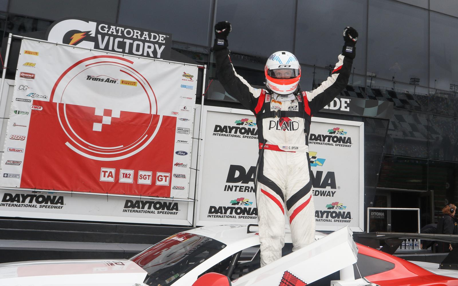 Dyson Wins Big at Daytona in Trans Am Finale