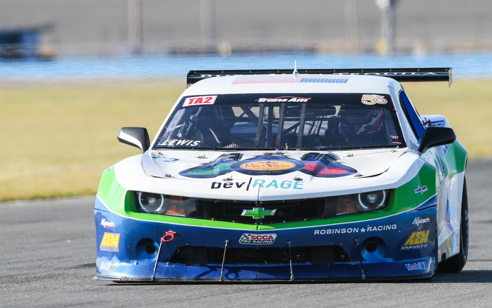 Lewis and Fix set tone as Trans Am opens Daytona finale with practice