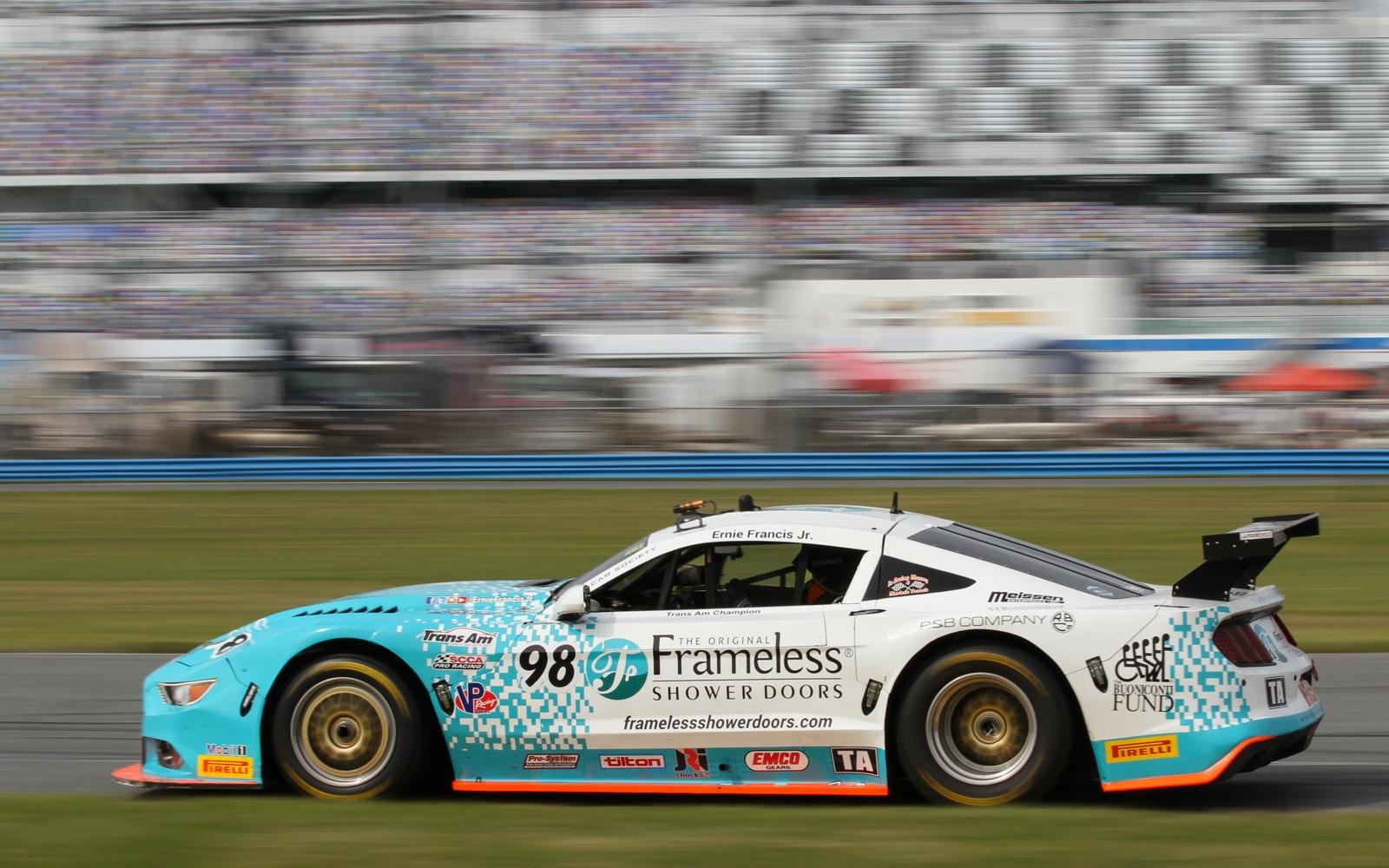 Francis, Jr., and Bilicki lead opening Practice Session at Daytona