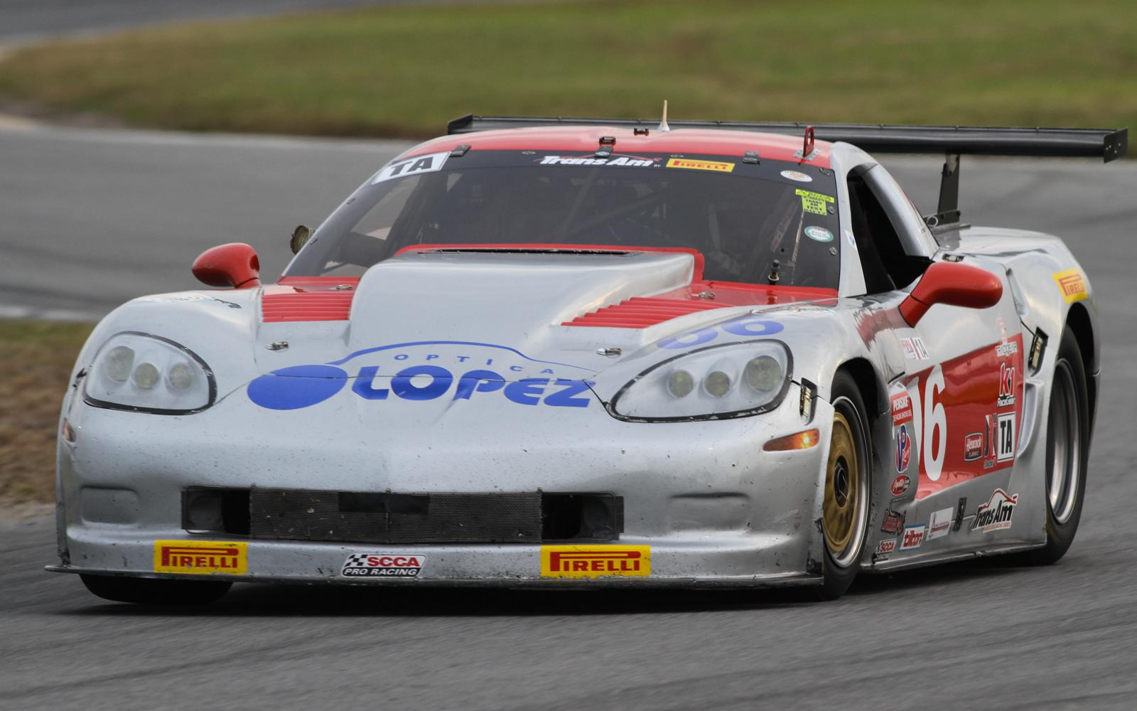 RJ Lopez leads Trans Am Practice 2 at Daytona