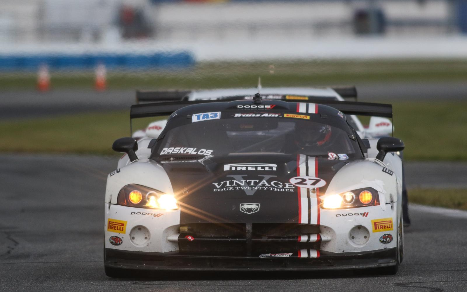 Daskalos and Napieralski Secure Daytona Poles for TA3, TA4 Classes