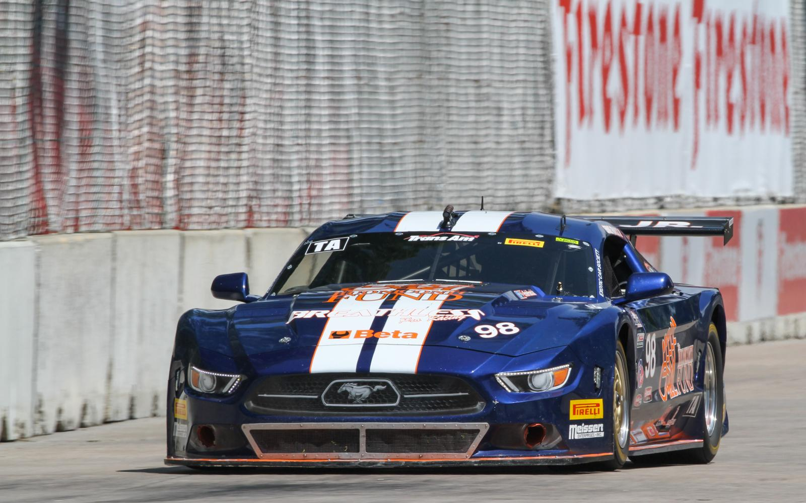 Francis, Jr., Robinson pace field in final practice on Belle Isle