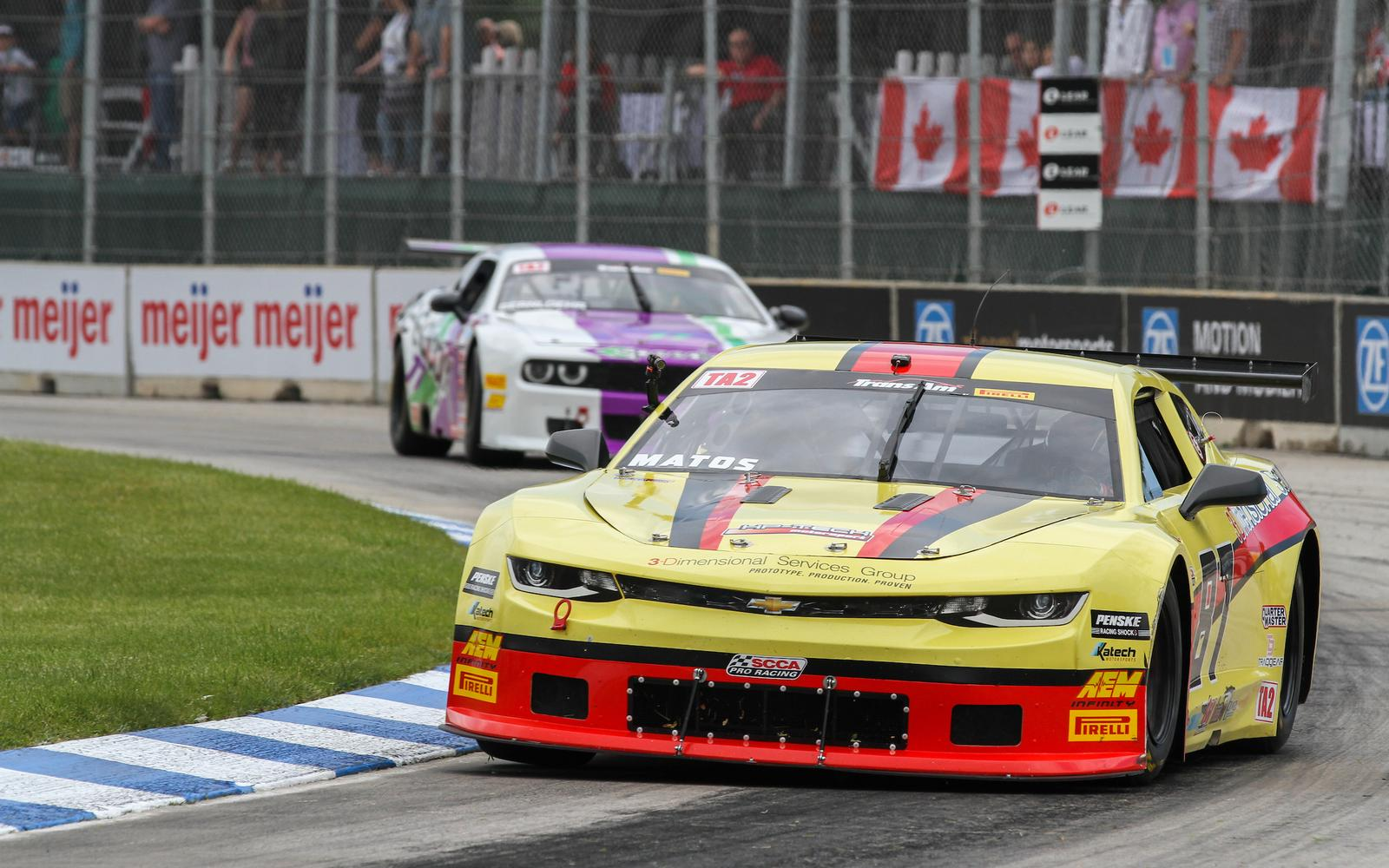 Trans Am Announces 21-Car TA2 Field for 3-Dimensional Races at Detroit Grand Prix