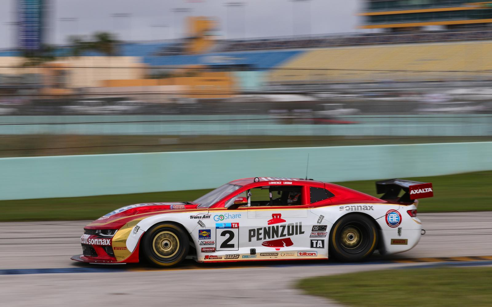 Loshak Claims Second Place in Homestead-Miami Speedway Thriller
