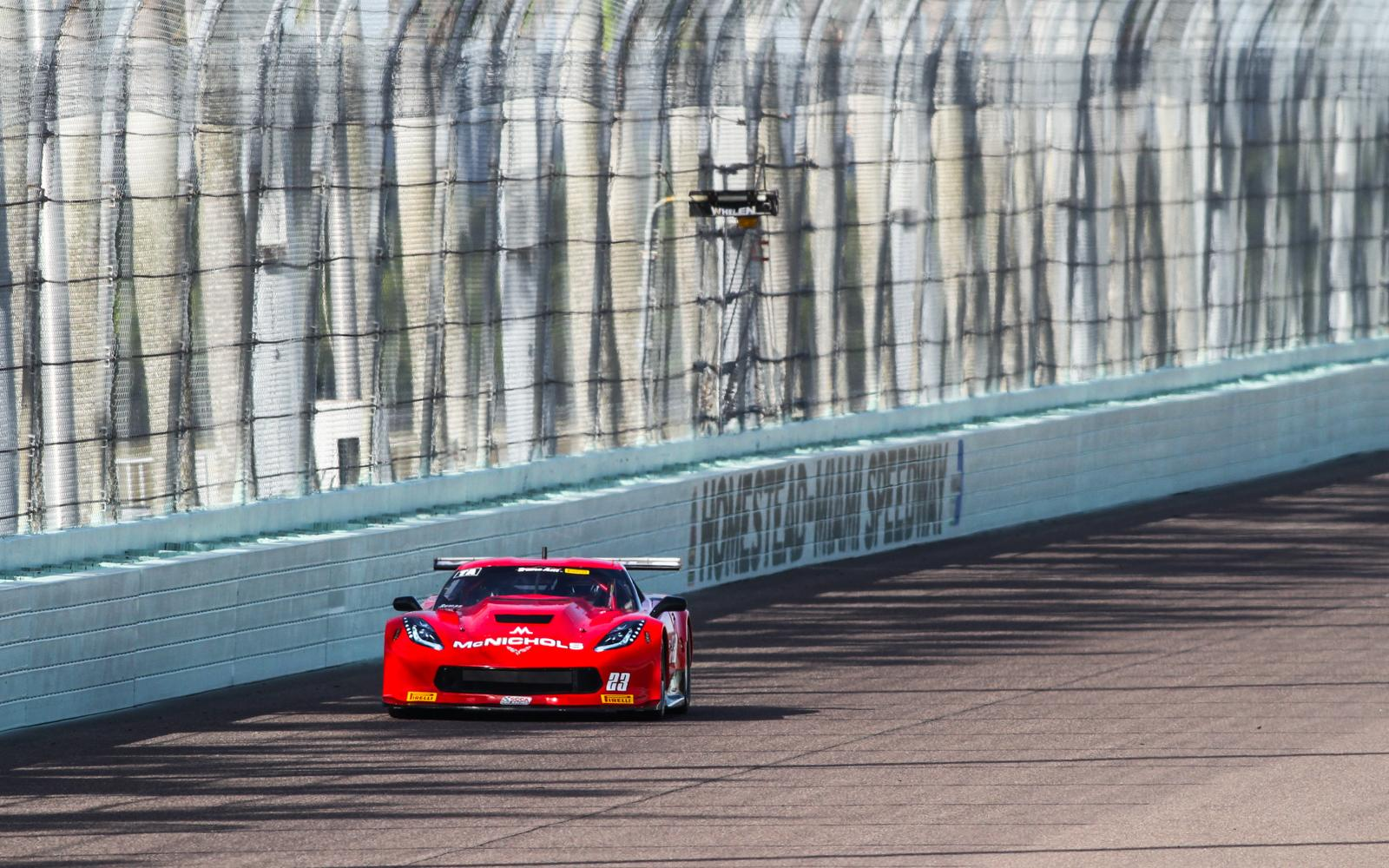 Ruman and Haley lead second practice sessions at Homestead-Miami