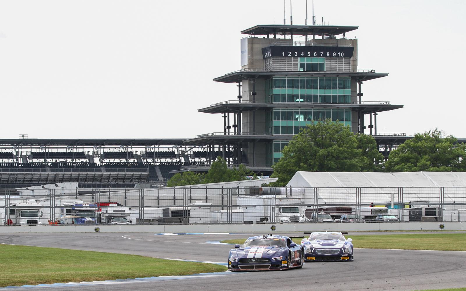 Trans Am opens Indy debut with practice