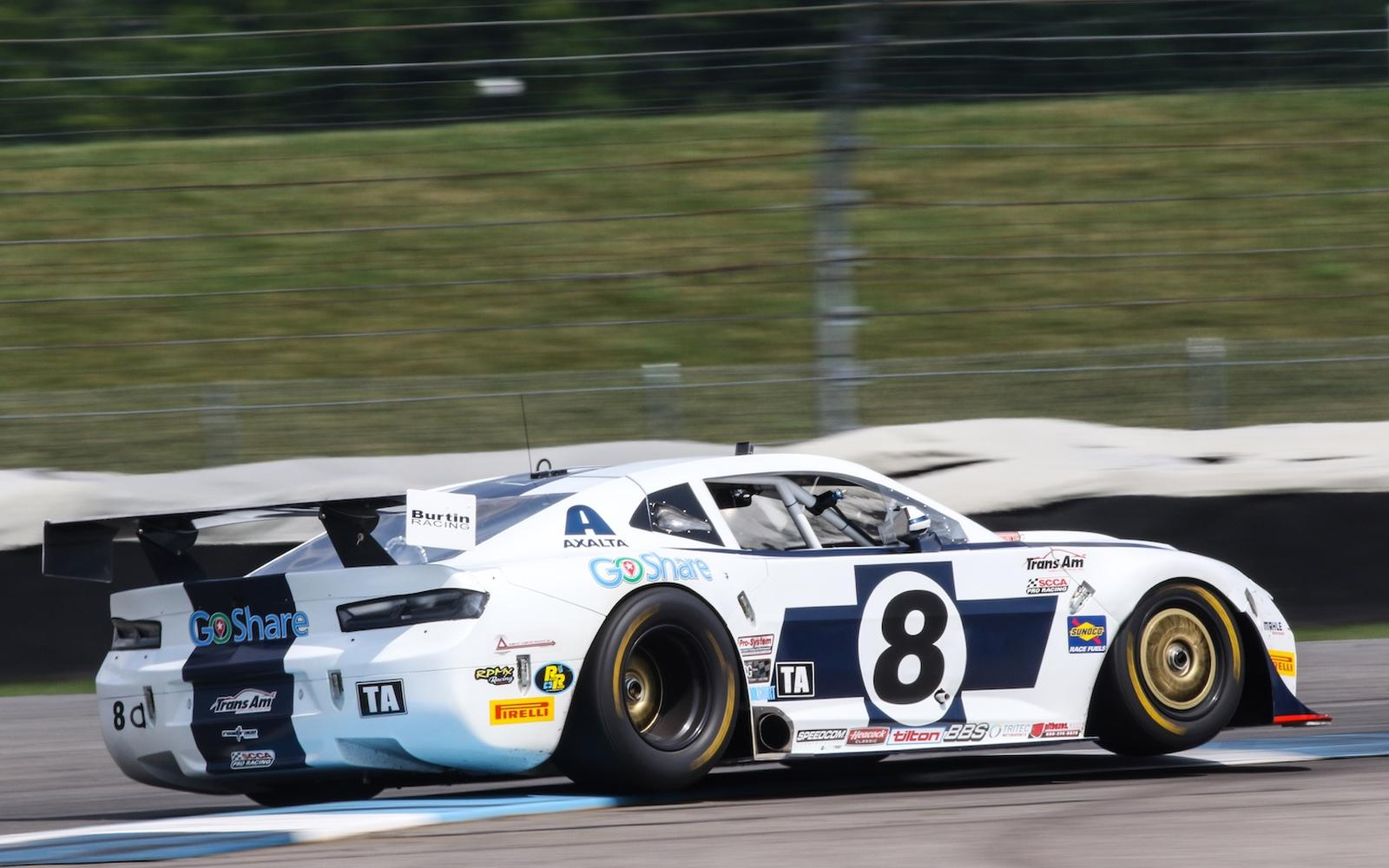 Tomy Drissi Finishes Third In Trans Am at Indianapolis Motor Speedway