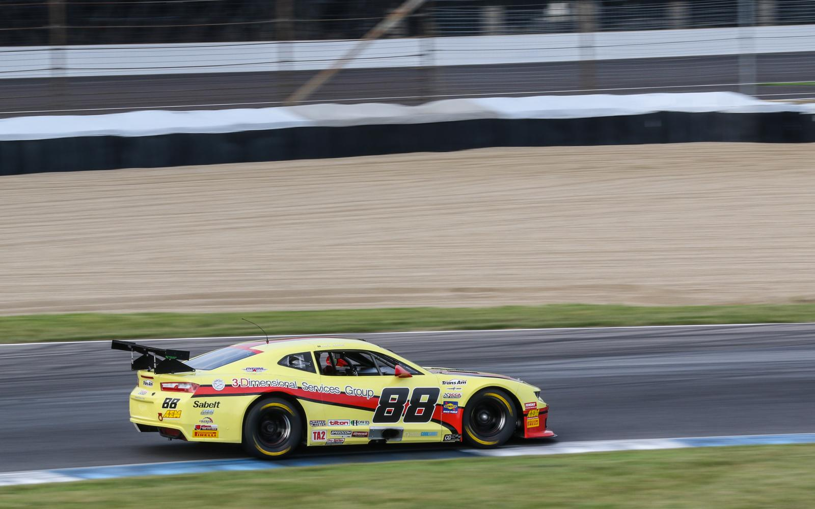 Rafa Matos on Trans Am Pole at Indianapolis Motor Speedway
