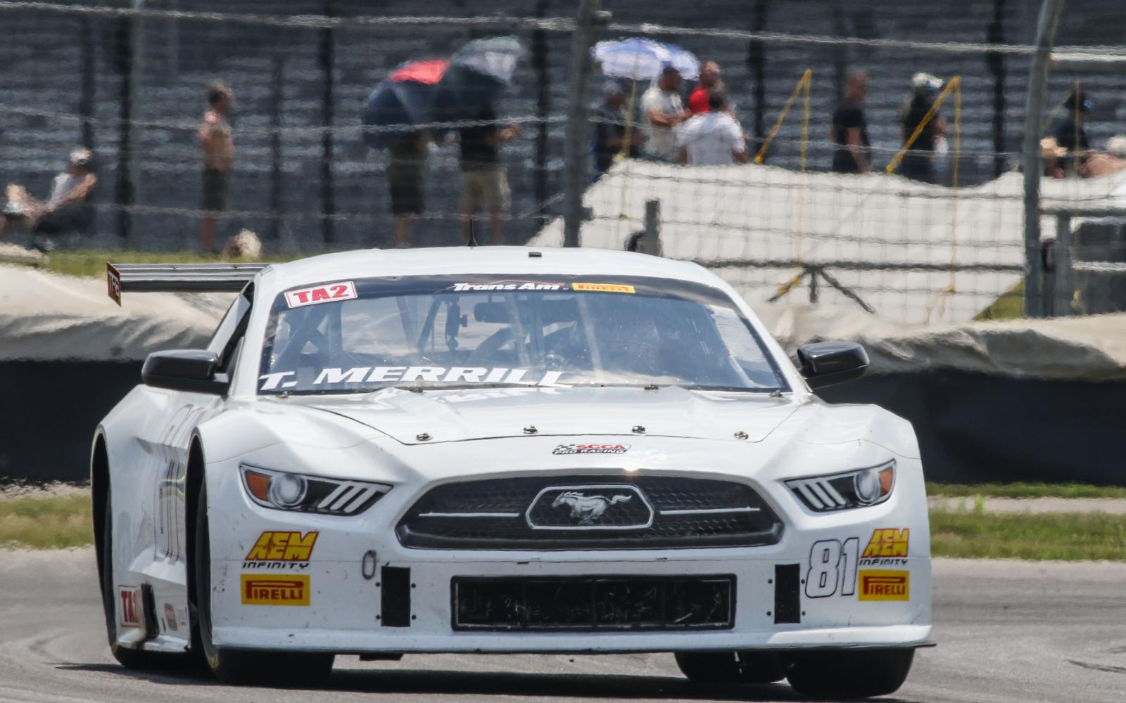 Merrill and Bupp share Trans Am TA2 Honors at Indianapolis Motor Speedway