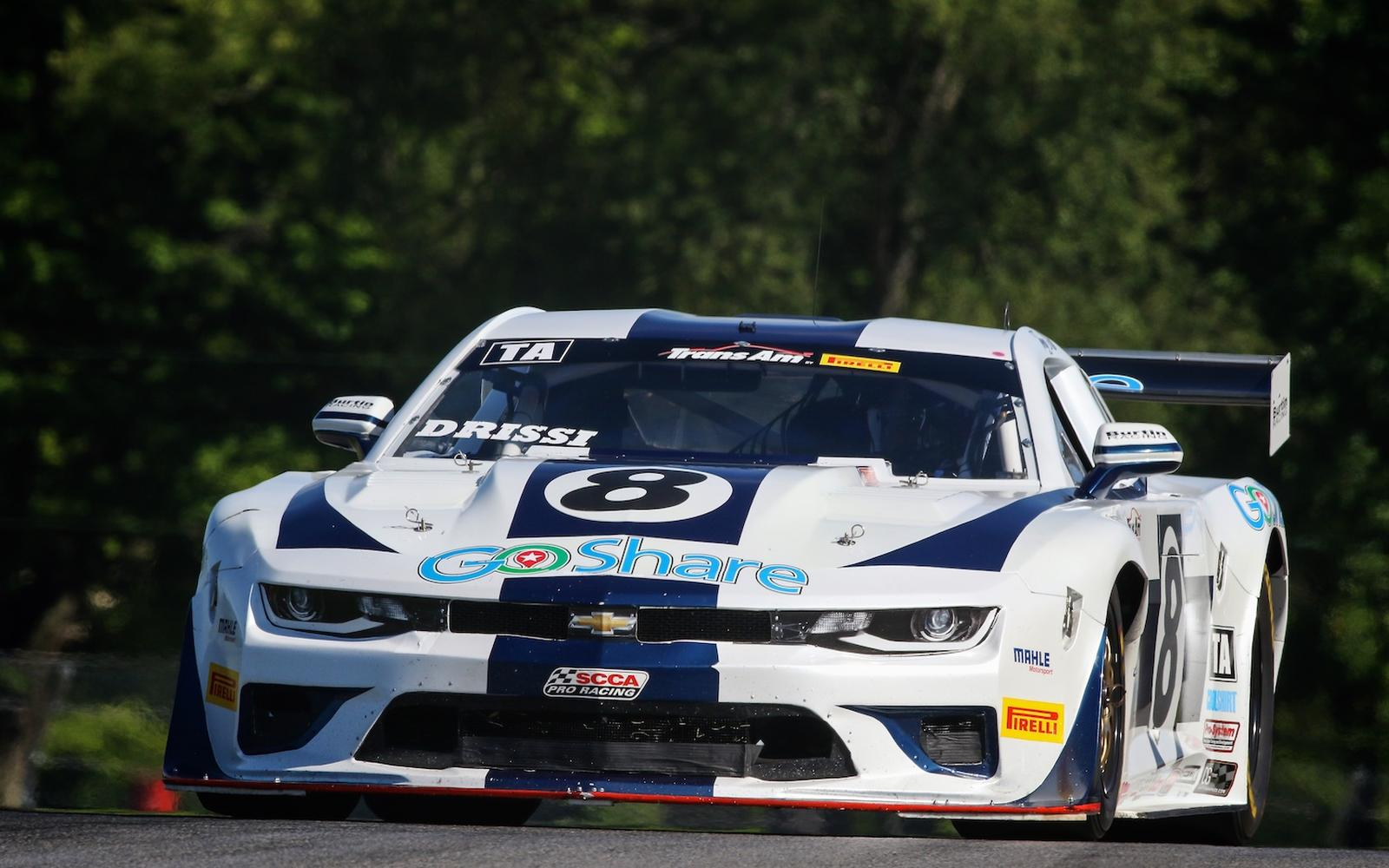 Tomy Drissi Back on Track at Mid-Ohio for the Pirelli Trans Am First Energy 100
