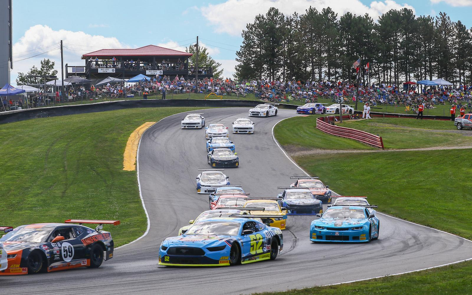 Trans Am Returns to Live Action Racing at Mid-Ohio