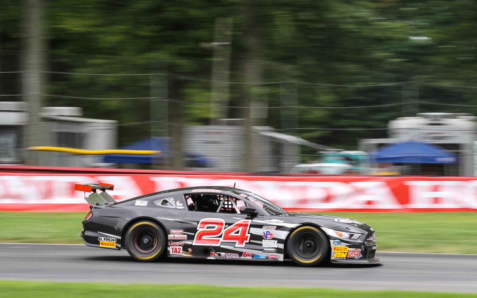 Machavern and Ragginger top dampened practice sessions at Mid-Ohio