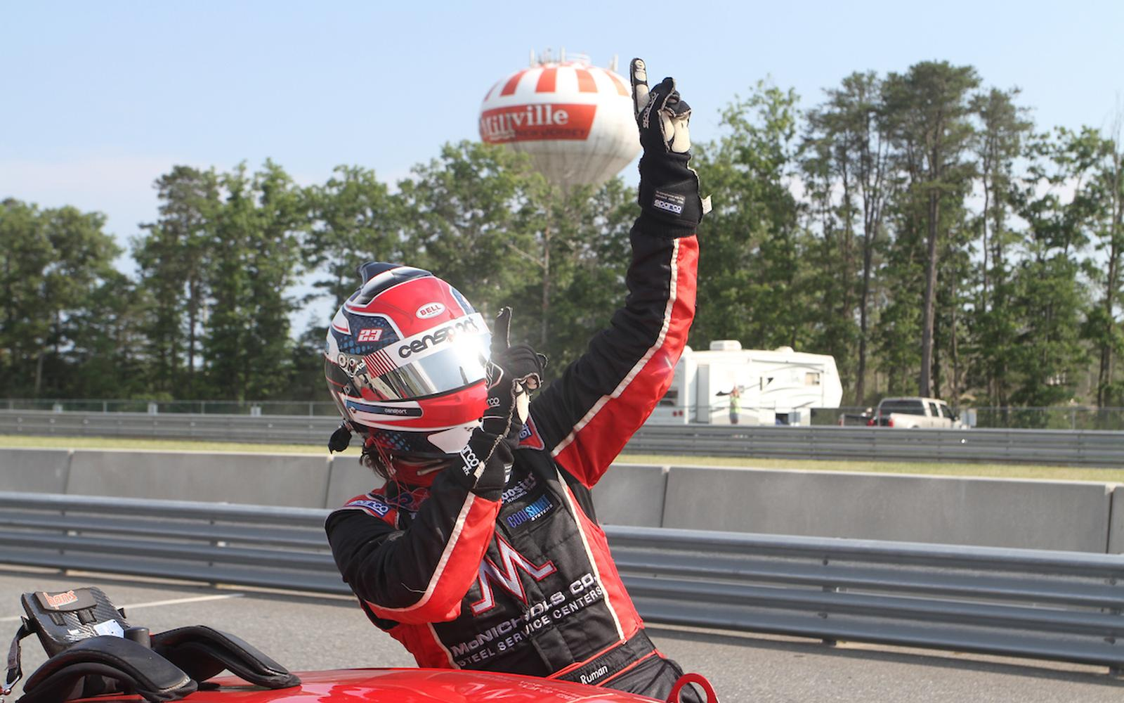 Ruman heads to NJMP's Thunderbolt Track