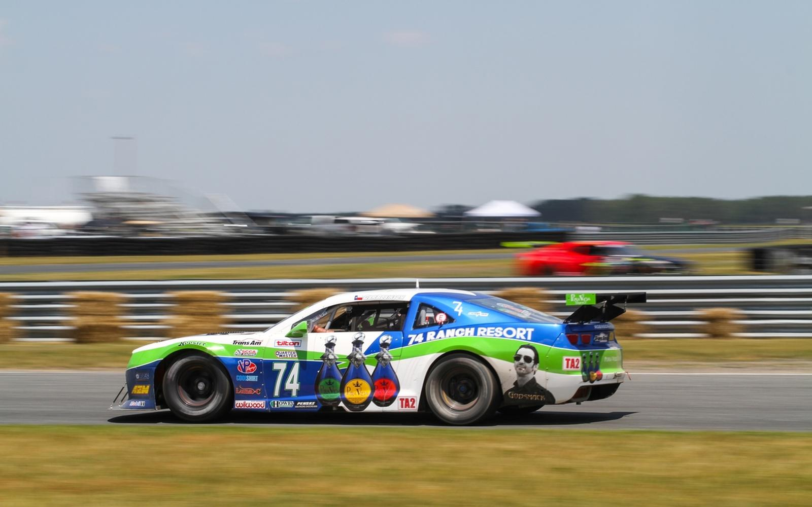 Robinson Racing Takes the Third and Fourth Spots in the Trans Am Race at NJMP