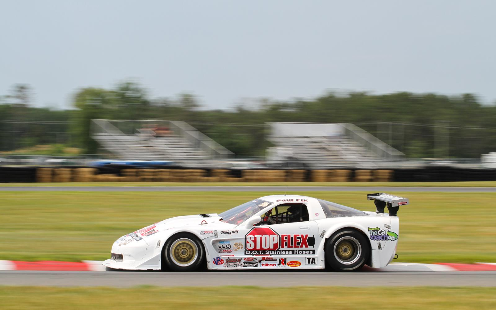 Fix and Machavern lead first practice session at NJMP