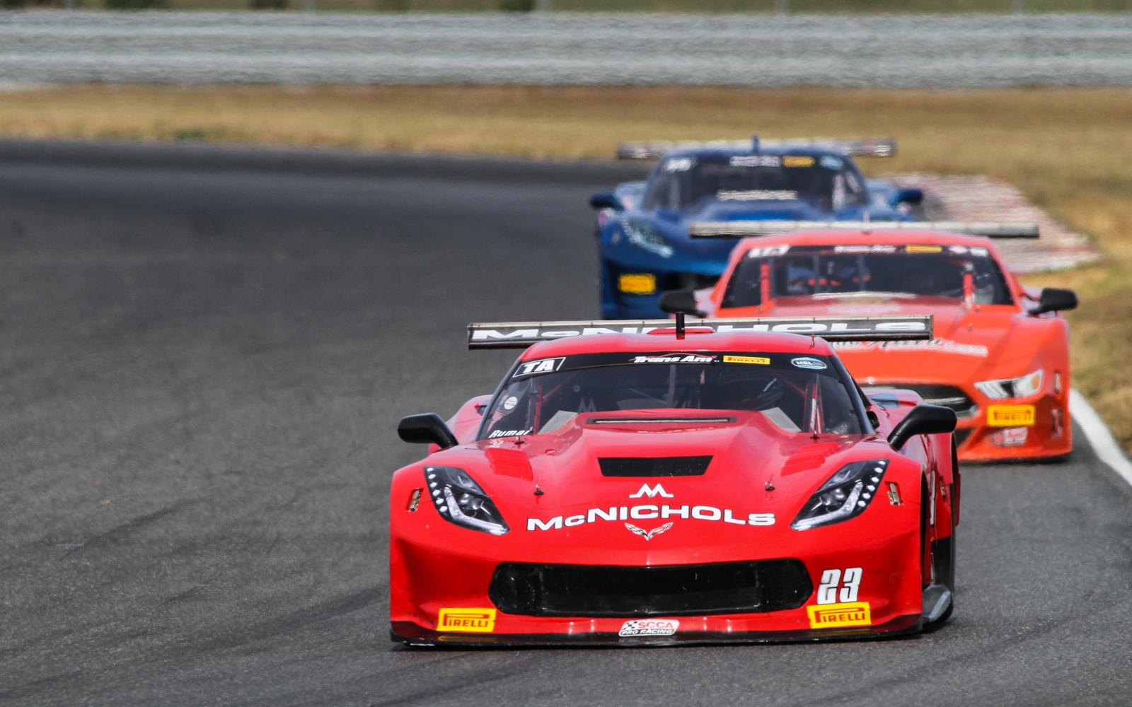 Ruman and Buffomante Set Fast Laps in Final New Jersey Practice