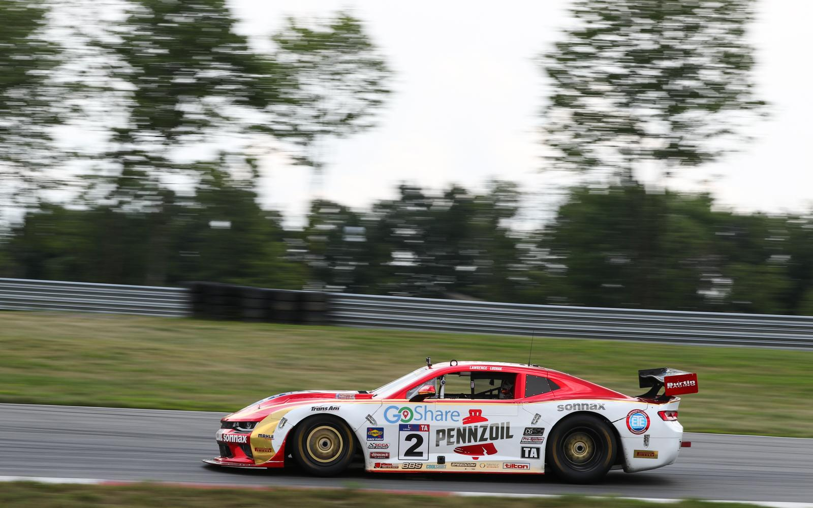 Career First Trans Am Class Win For Lawrence Loshak in Pittsburgh