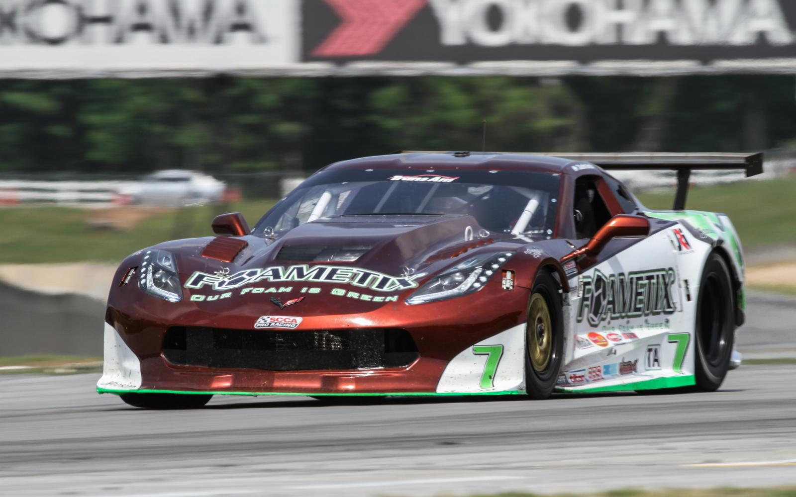 Hard Fought Effort for Burtin Racing at Road Atlanta