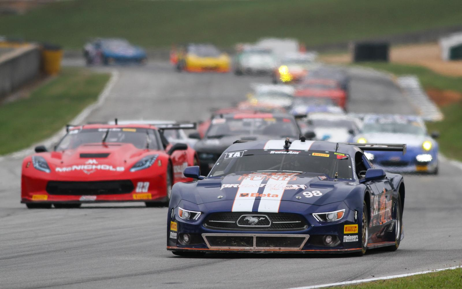Ernie Francis, Jr., and Tony Buffomante grab Trans Am wins at Road Atlanta