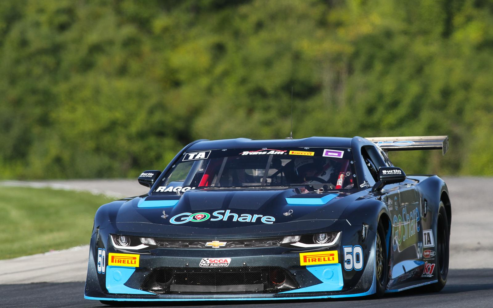 Ragginger and Robinson open Road America weekend in style