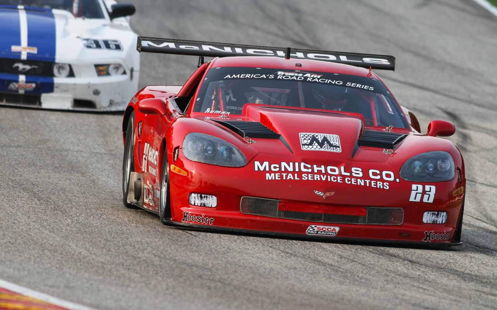 P6 for Ruman at Wet and Wild Road America Trans Am Race