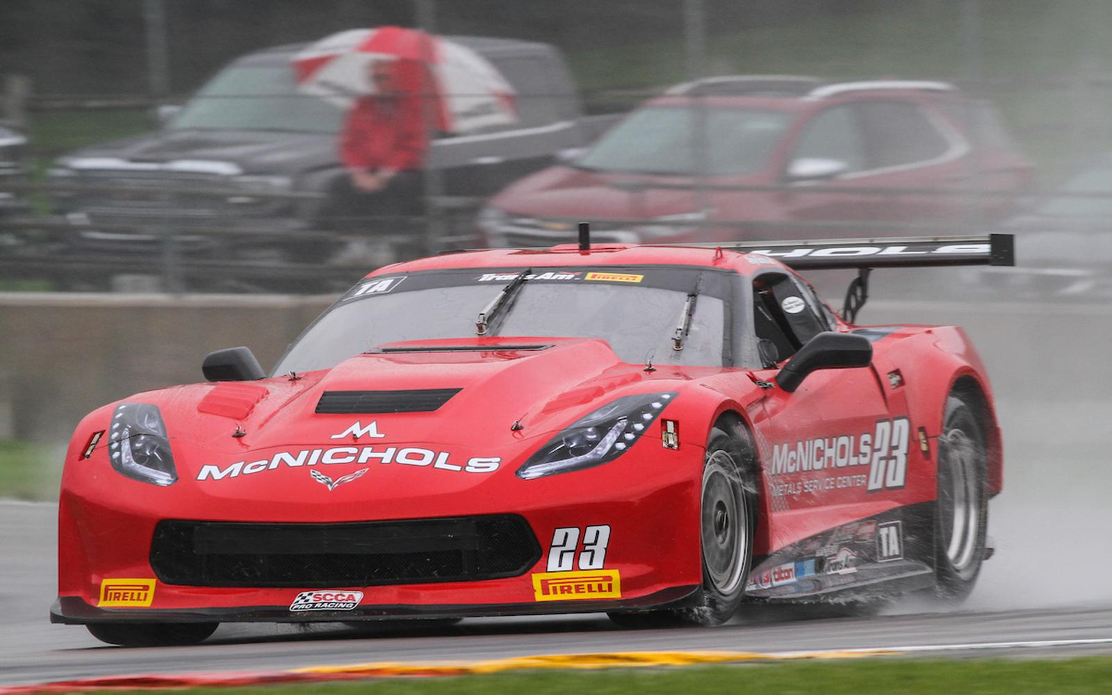 Ruman Finishes 6th in Rain Soaked Trans Am Race at Road America
