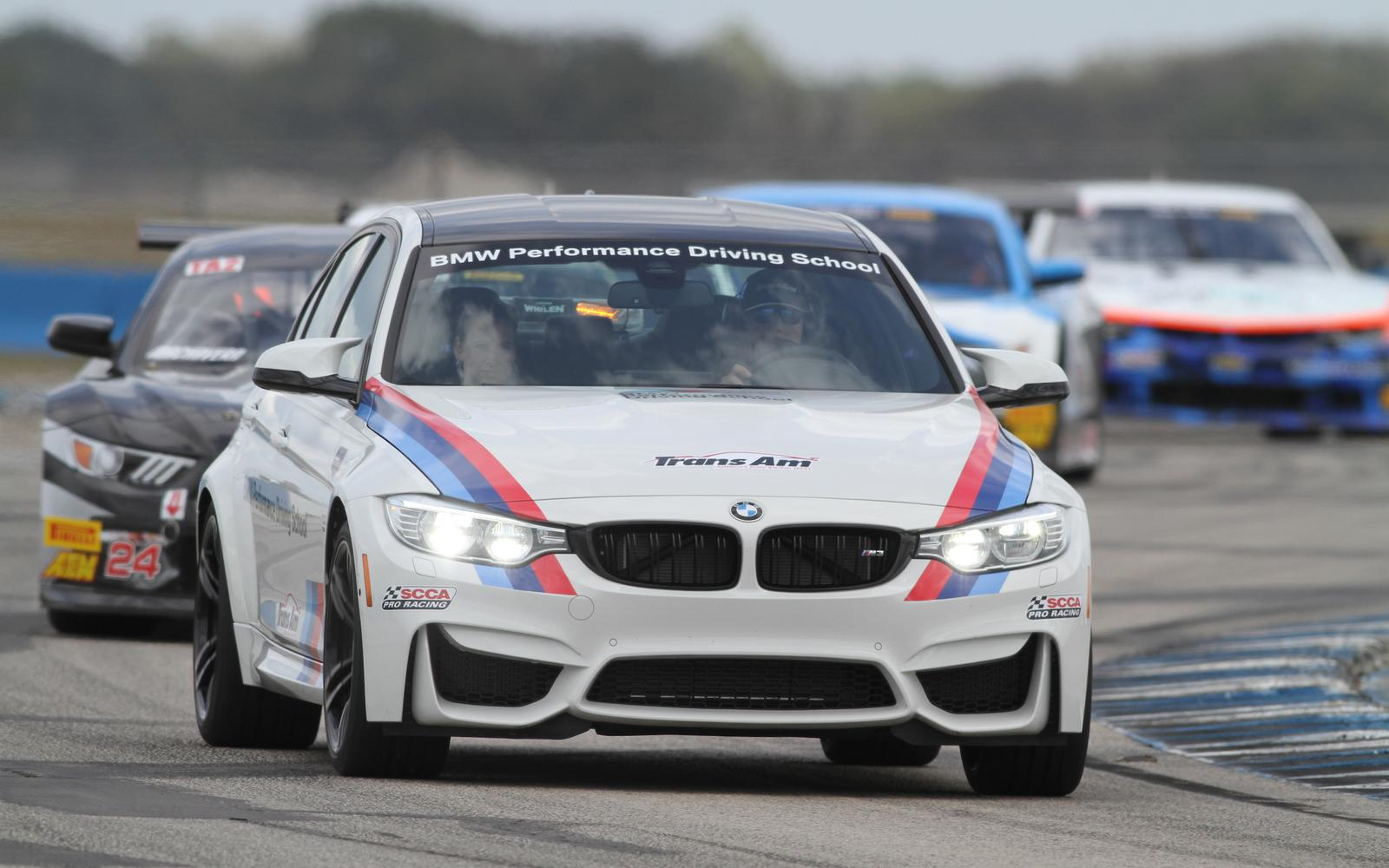 BMW Performance Driving School named Official Pace Car Provider of Trans Am