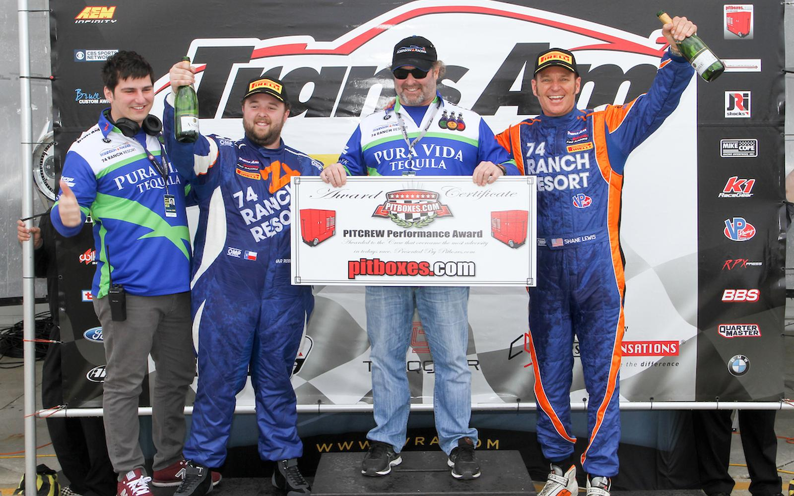 Smyre, Fraser, Klutt and Grant headline Trans Am Award Winners from Sebring