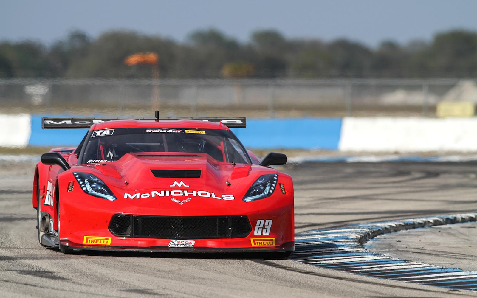 Top 5 Finish for Ruman at Trans Am Sebring Opener