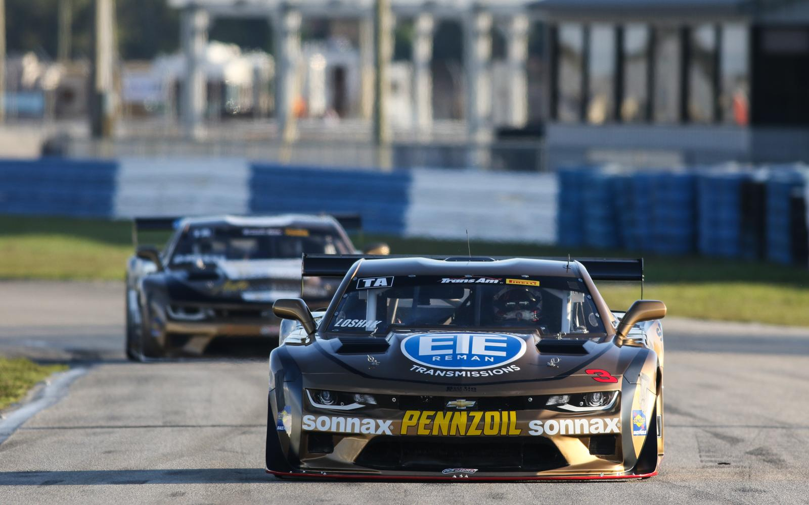 Teammates Loshak and Drissi Share Front Row for Sebring Trans Am presented by Pirelli Opener