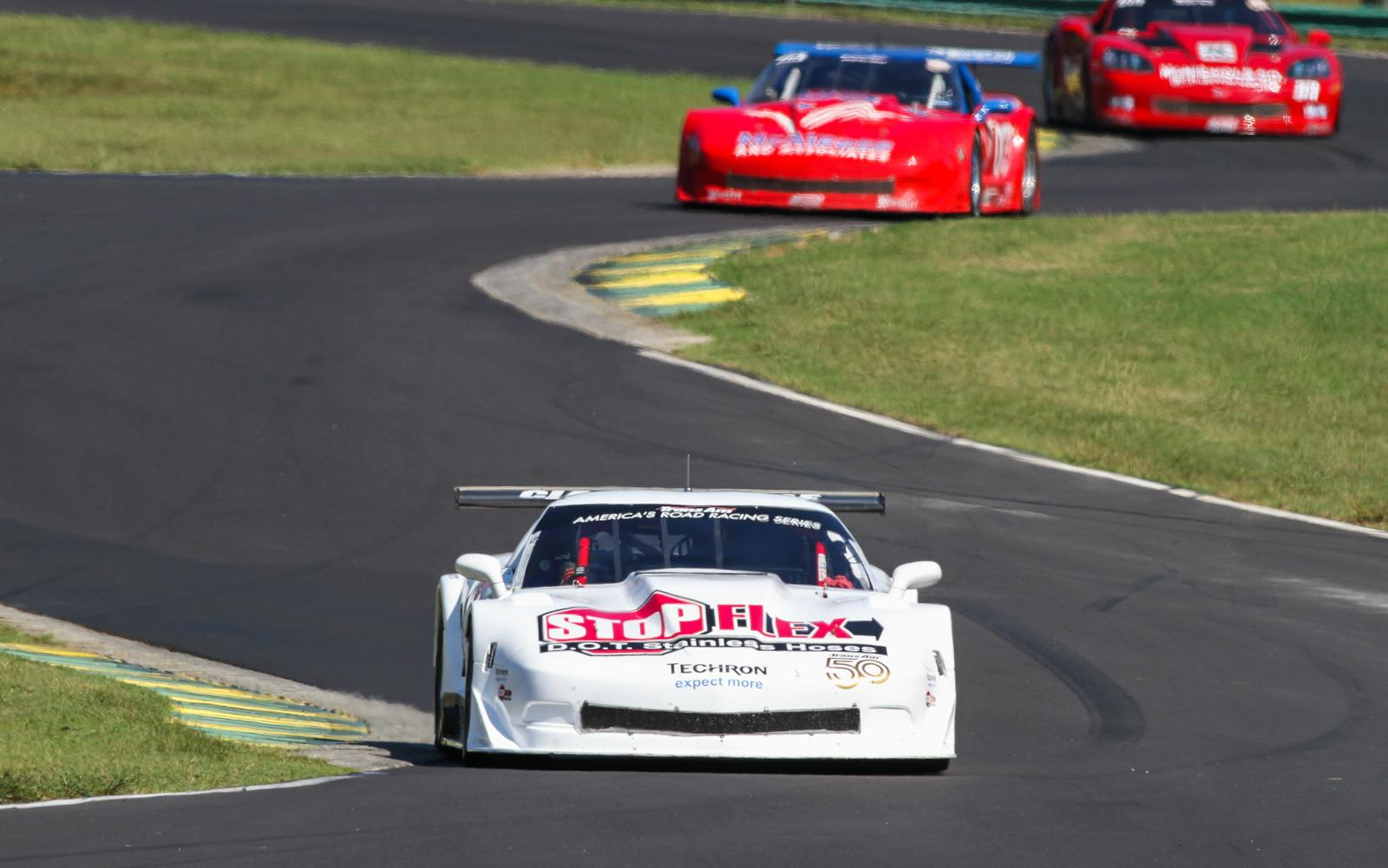 Fix secures TA three-peat, Francis TA4 Championship, in Trans Am race at VIR