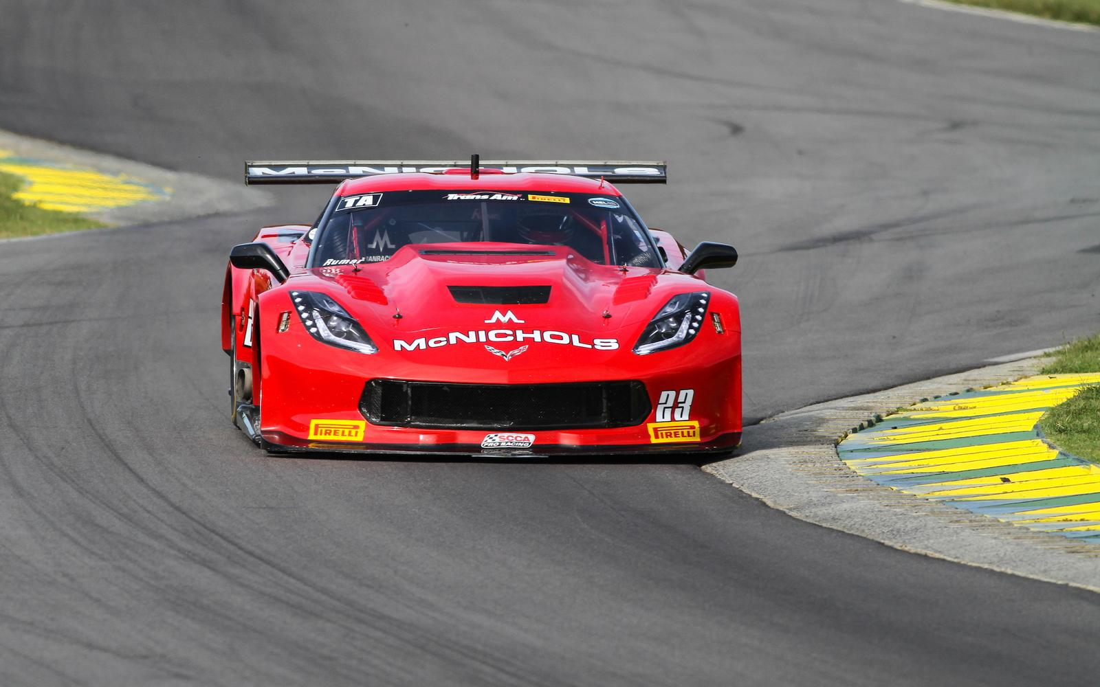 4th Place for Ruman at VIR Trans Am