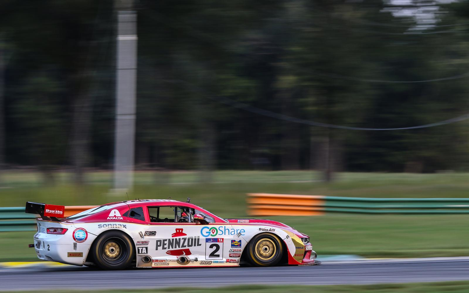 Burtin Racing win at VIR on perfect weekend for record breaking Loshak