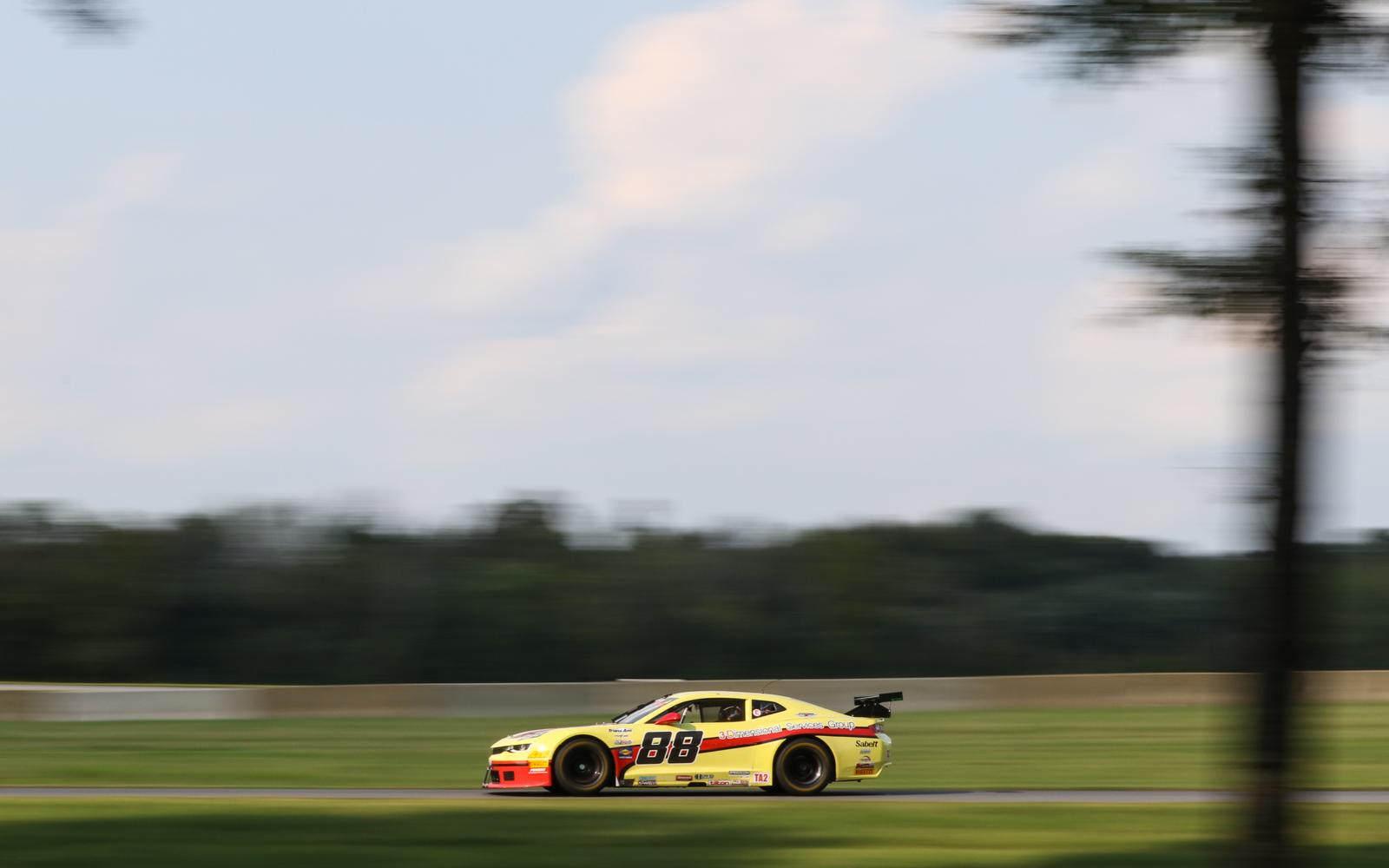 Rafa Matos and Boris Said Commence Trans Am Weekend a VIR atop Practice Charts