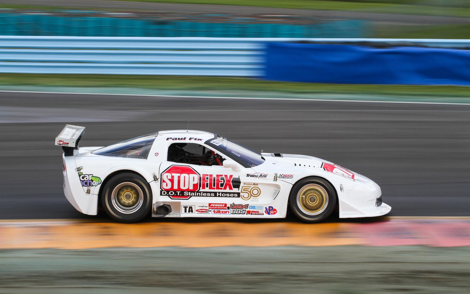Paul Fix returns to Watkins Glen Trans Am