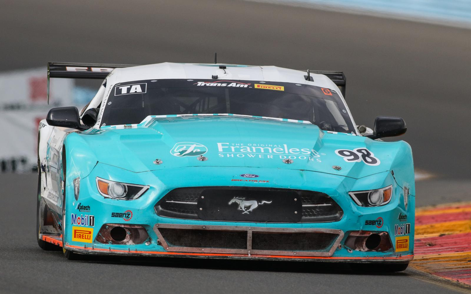 Ernie Francis Jr. Edges Boris Said for Watkins Glen Trans Am Pole