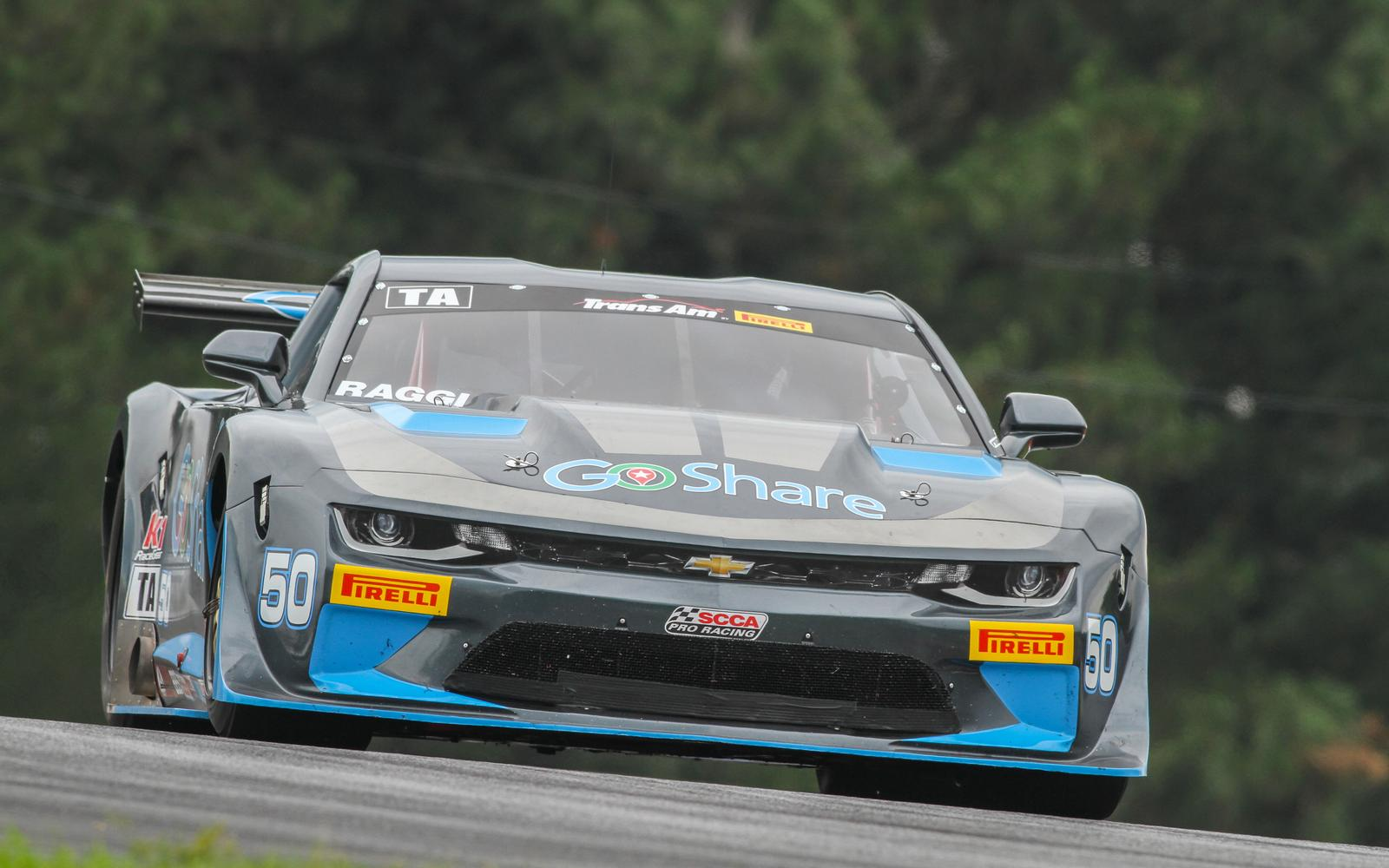 Podium Success for Burtin Racing GoShare/Axalta Chevrolet Camaro