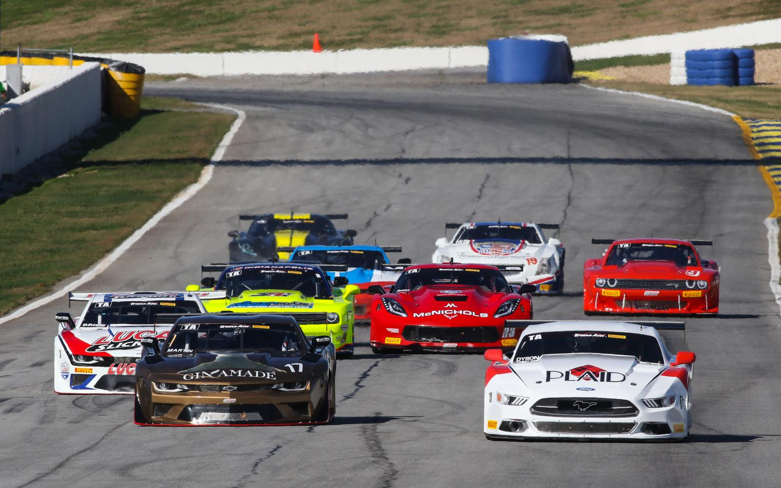 Ragginger, Drissi Give Burtin Another Trans Am 1-2 at Road Atlanta
