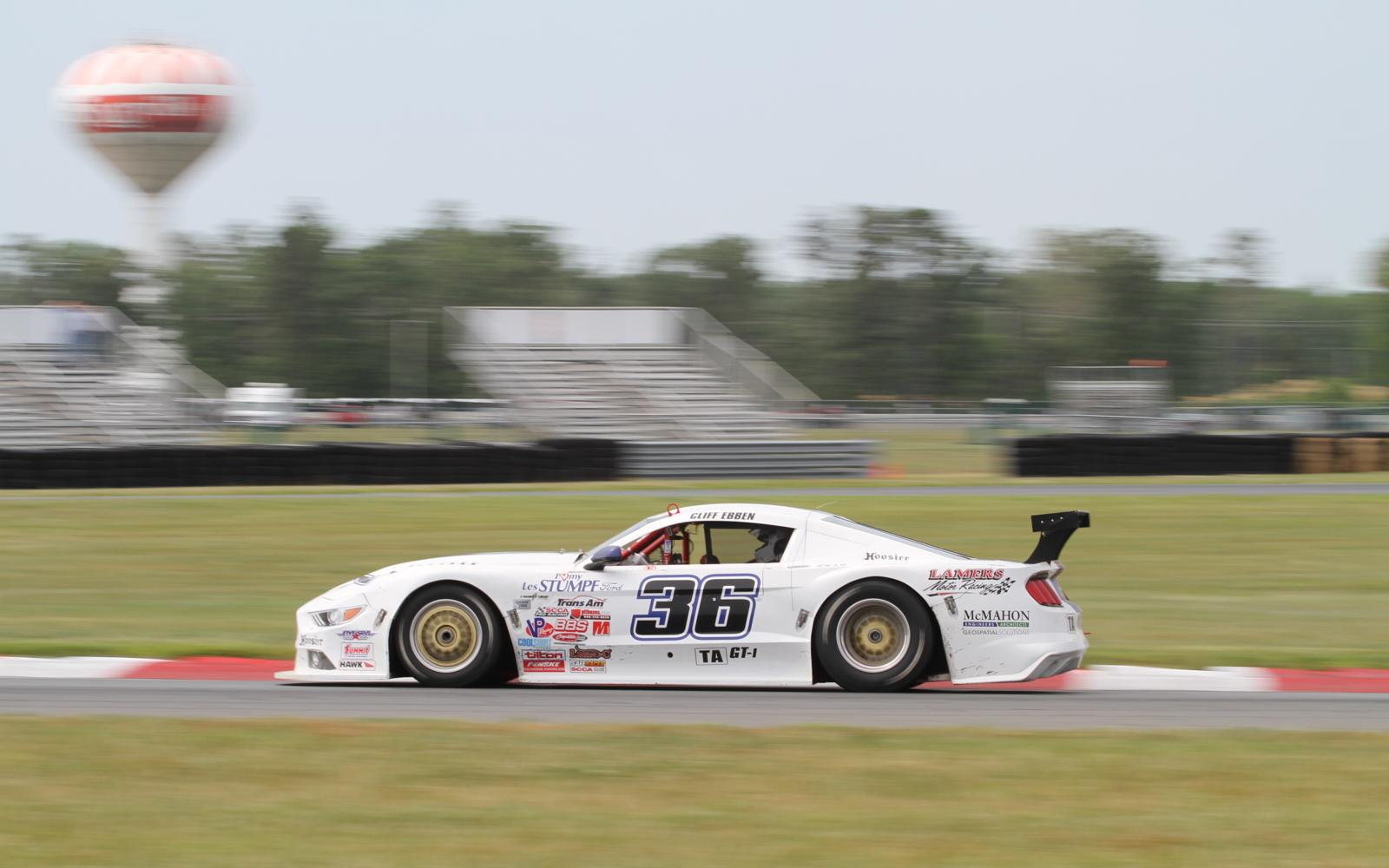 Ebben and Haley pace Trans Am Fast Five qualifying in Jersey